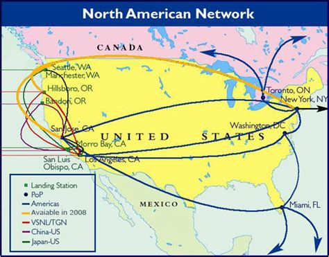 fiber map usa network maps usa longhaul telecom ramblings