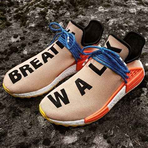 Adidas Nmd Human Race Pw Original Sneakers adidas x pharrell pw human race adidas x pharrell shoes accessories