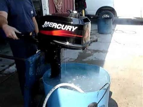 Minyak Quicksilver 2003 mercury 5 hp outboard engine