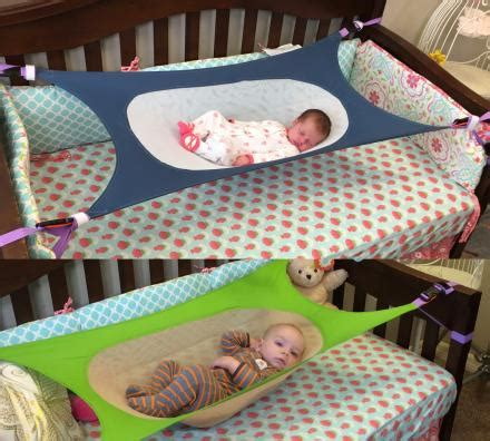 baby net for crib crescent womb a newborn crib hammock which helps reduce