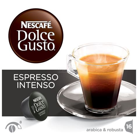 dolce gusto espresso intenso coffee capsules nescafe dolce gusto espresso intenso