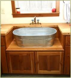 galvanized bathroom sink 25 best ideas about sink on country