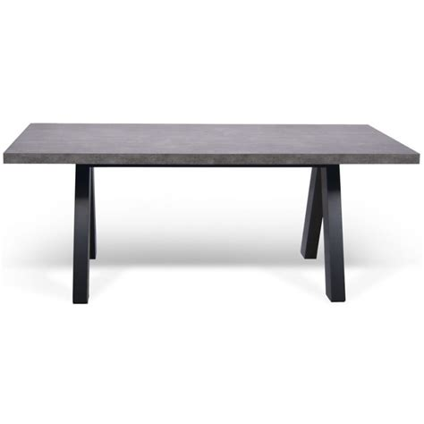 apex concrete dining table