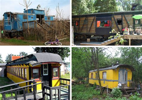 Island Trolley Kitchen by All Aboard 15 Recycled Train Car Homes Offices Amp Hotels