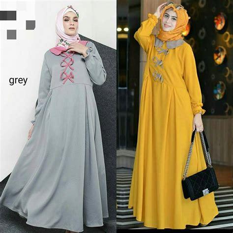 Baju Wanita Maxi baju modern frizka maxi grosir baju muslim pakaian