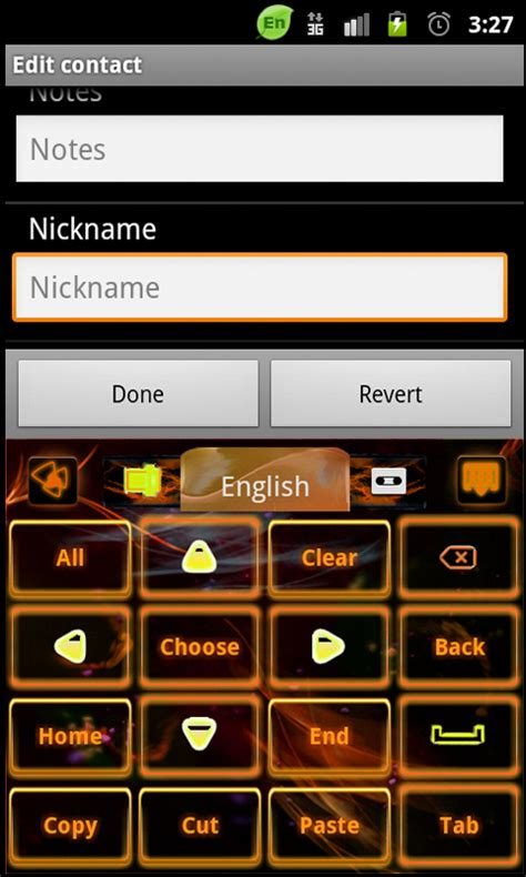 keyboard themes root go keyboard orange flame theme free android app android