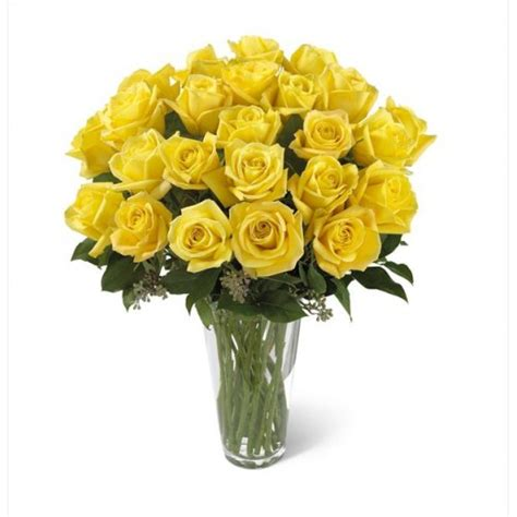 Caring For Flowers In A Vase Yellow Rose Bouquet