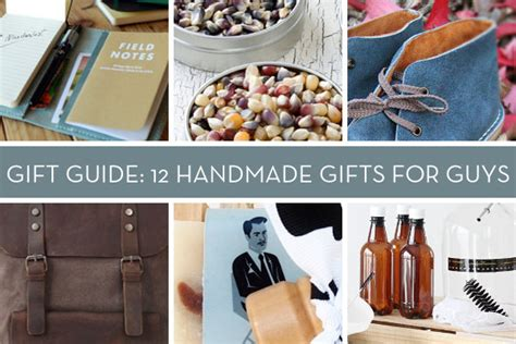 Cool Handmade Gifts For Guys - gift guide 12 great handmade gifts for curbly