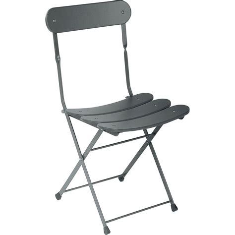 chaise pliante de jardin chaise de jardin en acier cassis fer ancien leroy merlin