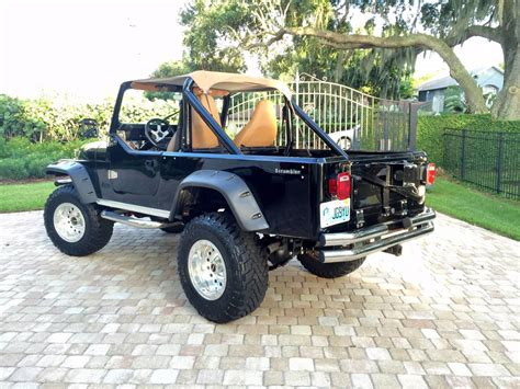 jeep scrambler for sale 1981 jeep scrambler cj8 v6 manual for sale orlando fl