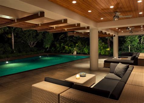 stephen architect guest pavilion modern pool charleston by stephen