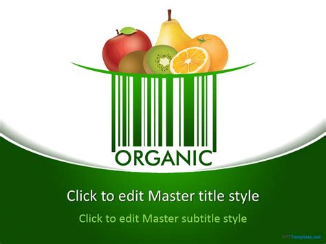 free nutrition powerpoint templates free food powerpoint templates