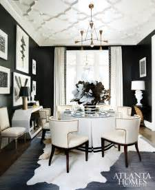 Black And White Dining Room Ideas Black Amp White Style On Pinterest Black Walls House Of