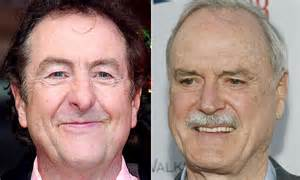 Monty python stars john cleese and eric idle fall out over west end