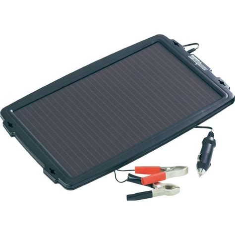 solar car battery charger 2 4 w from conrad
