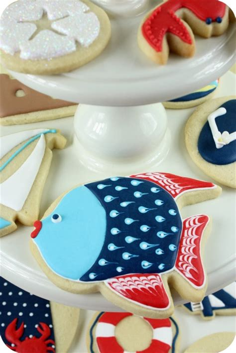 Summer Cookie Decorating Ideas by How To Avoid Spots On Icing Sweetopia