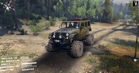 jeep cing mods sid jeep wrangler unlimited 1 0 spintires mods