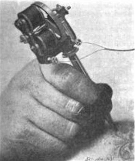 tattoo machine history electric tattoo machine history