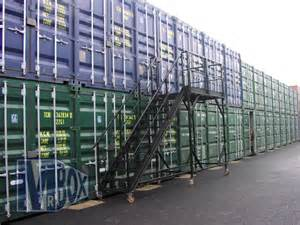 self storage containers mobile access staircase