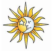 Sun Moon And Stars Tattoos 6