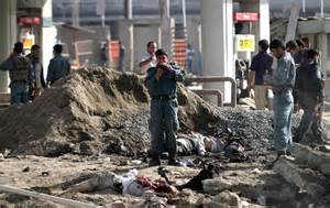11 dead bodies on the ground most of the foreigners killed