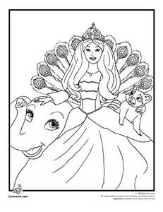 Barbie coloring pages new