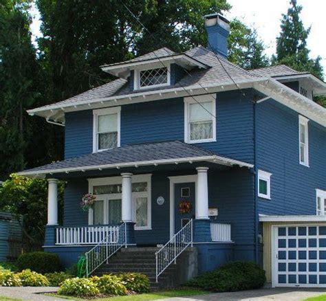 blue bungalow exterior bungalow paint colors