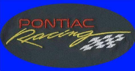 pontiac racing logo pontiac racing logo