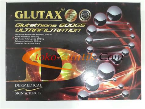Glutax 600gs suntik putih glutax 600gs ultrafiltration