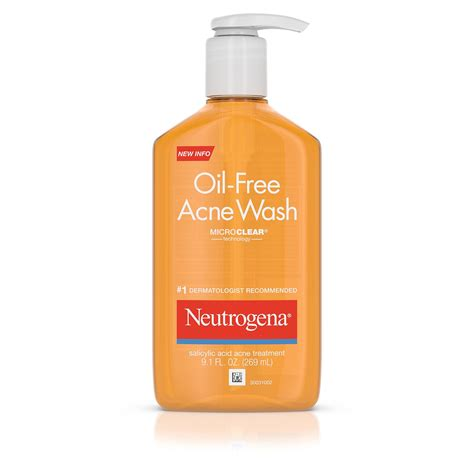 Best Seller Verile Acne Wash neutrogena free acne wash 9 1 oz pack of 3 cleansers toners