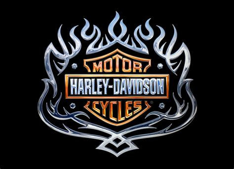 Kaos 3d Umakuka Original C O C 7 harley davidson emblems on behance