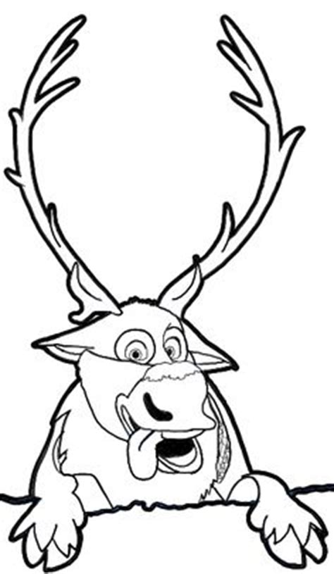 frozen coloring pages baby sven anna elsa kristoff and sven by spartandragon12