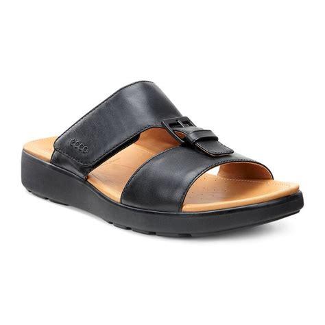 ecco mens sandals ecco gilson 66120401001 black mens formal sandals
