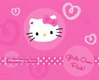 Pink Hello Kitty Desktop