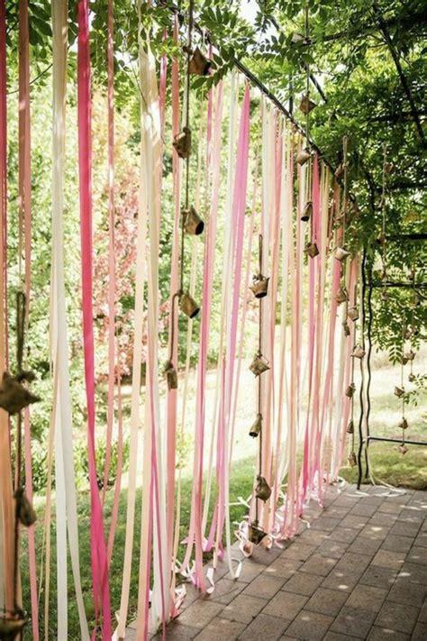 hochzeitsfeier dekorieren hochzeitsfeier im freien wenn die hochzeit im garten