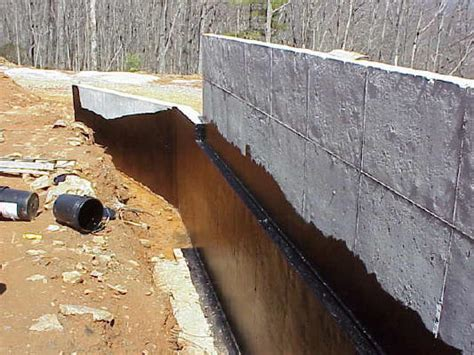 exterior foundation waterproofing products home design