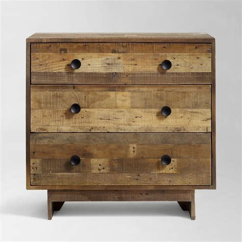 reclaimed wood 3 drawer dresser emmerson 174 reclaimed wood 3 drawer dresser natural