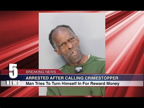 man tries to turn himself in for reward money youtube
