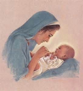 Mary and baby jesus colored pencil drawing of mary and baby jesus