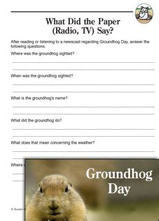 groundhog day you speak groundhog day activities if a groundhog cold talk