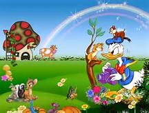 Free Disney Cartoon Backgrounds
