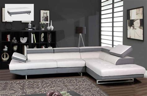 Grey And White Sofa by Gray And White Sectional Sofa With Matching