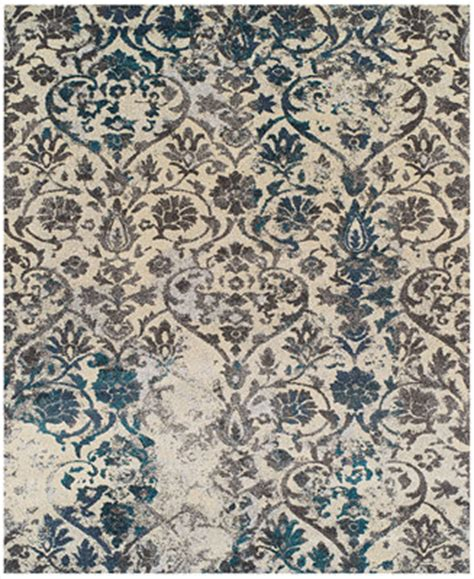 teal damask rug dalyn neo grey damask teal area rugs rugs macy s