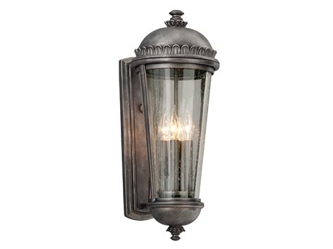 Troy Lighting Ambassador Aged Pewter Four Light Outdoor Troy Outdoor Lighting Fixtures