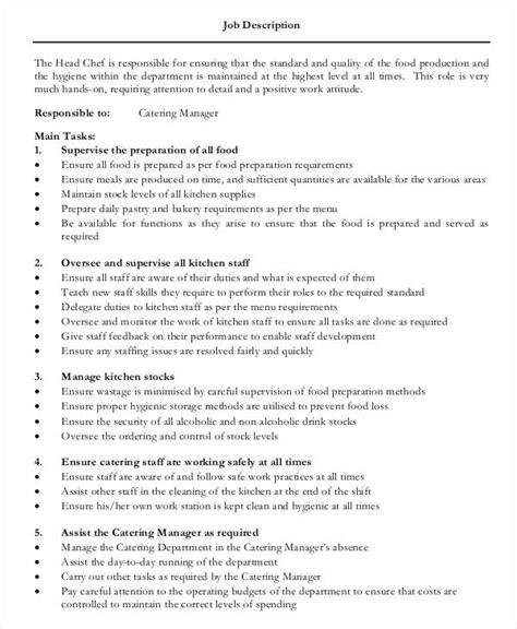 chef instructor job description fishingstudio com