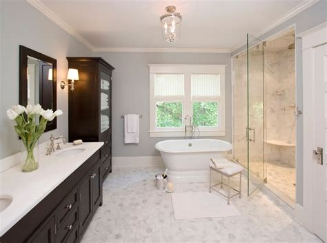 10 Easy Design Touches For Your Master Bathroom Freshome Com Bathroom Color Ideas