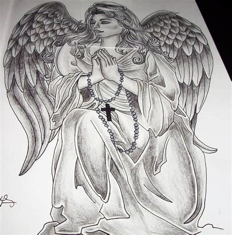 praying angel tattoos designs 45 tattoos designs and sles