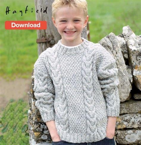 boy sweater knitting pattern 17 best ideas about aran knitting patterns on