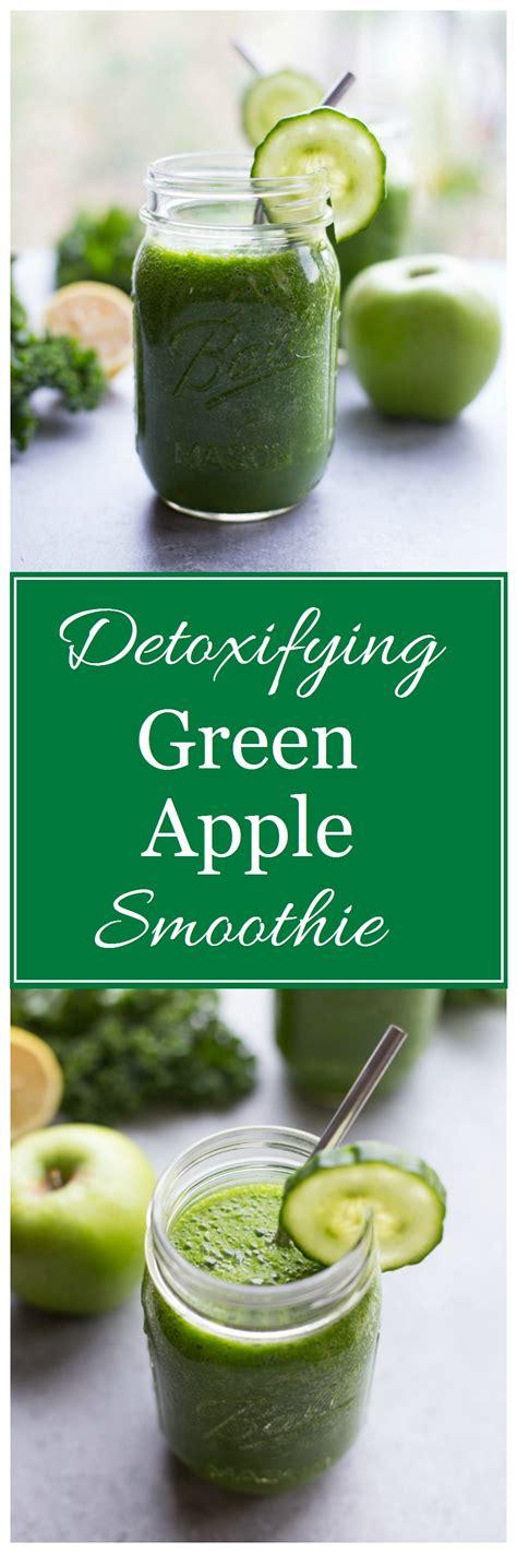 Green Apple Detox Recipe by Kale Apple Smoothie Detox