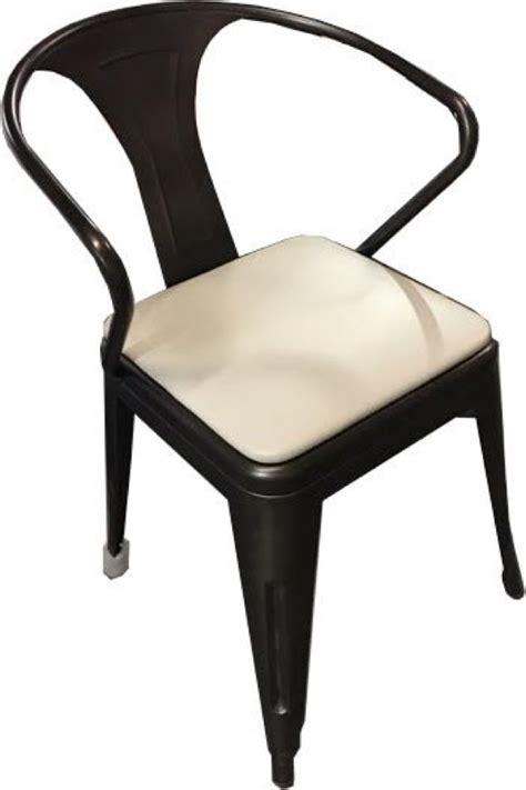 Tabouret Chairs by Tabouret Replica Galvanized Steel Restaurant Arm